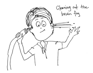 cleaning out brain fog