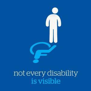 not every disability visable