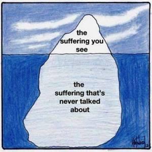suffer iceberg